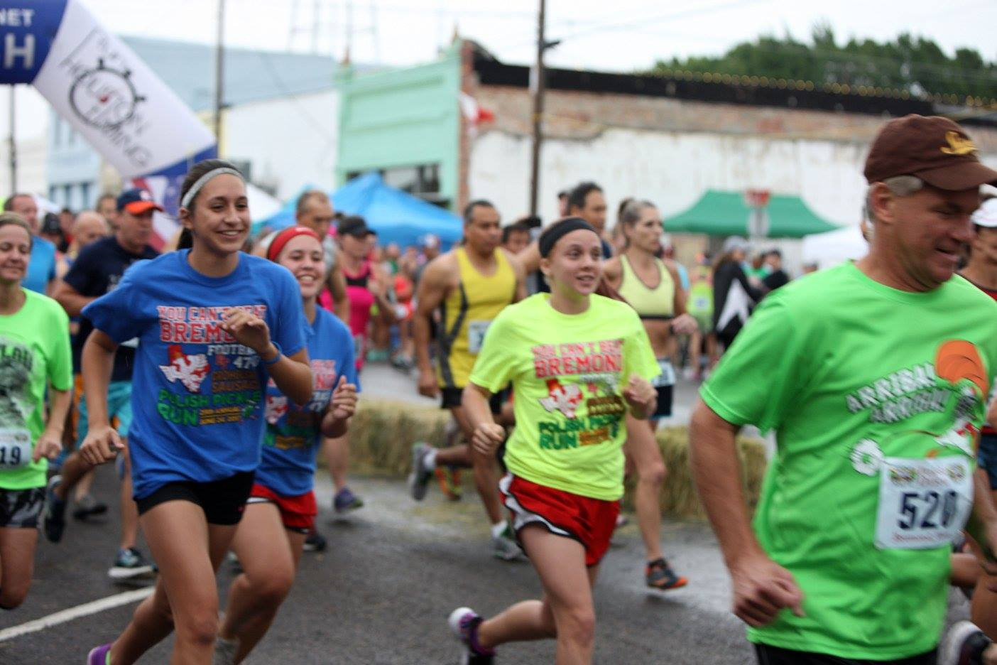Bremond Polish Pickle Runners Youth 5K Run