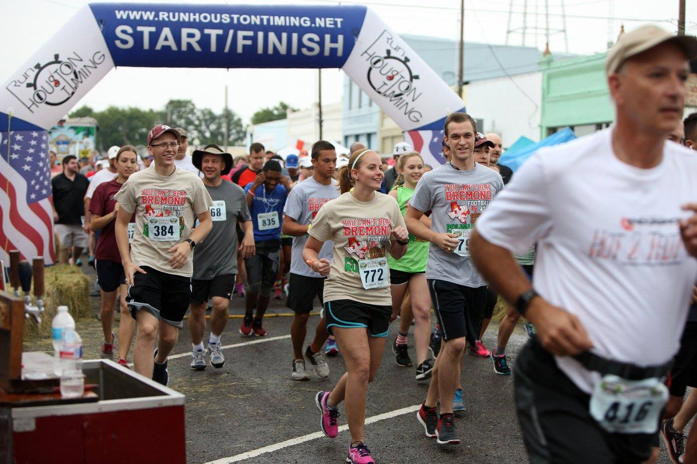Polish Pickle Run 5K Walk Run Bremond Texas Polish Days