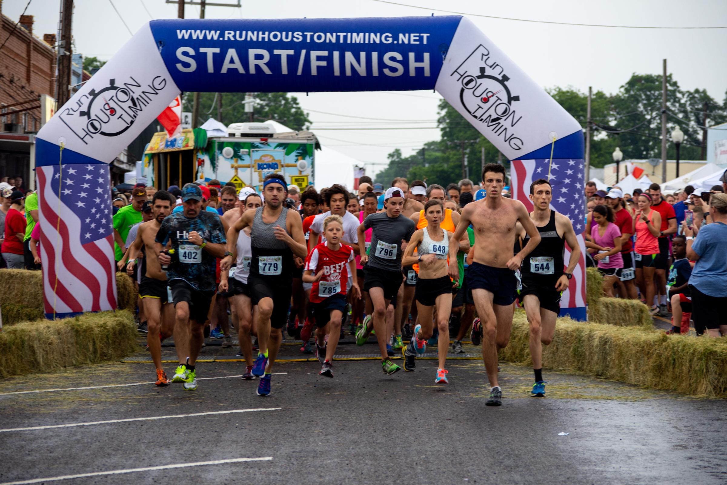 Polish Pickle Run Bremond, Texas Polish Festival Days 5K Run Walk