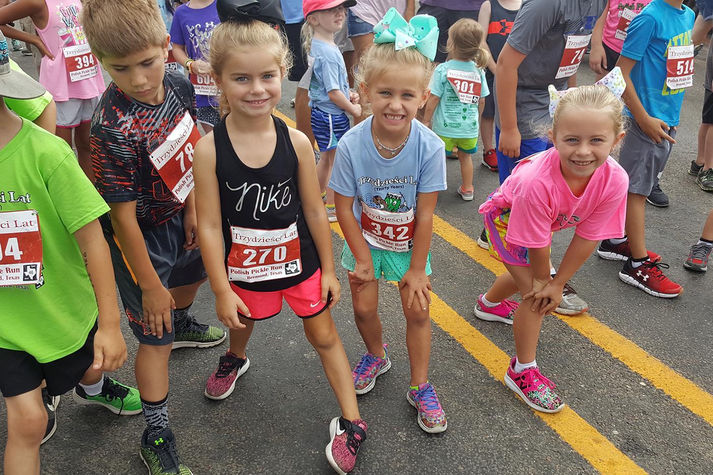 Polish Pickle Run Bremond, Texas Kids 5K Run Polish Days